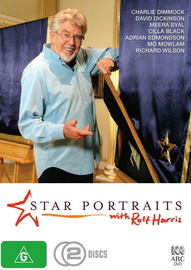 Star Portraits With Rolf Harris (2 Disc Set) on DVD image