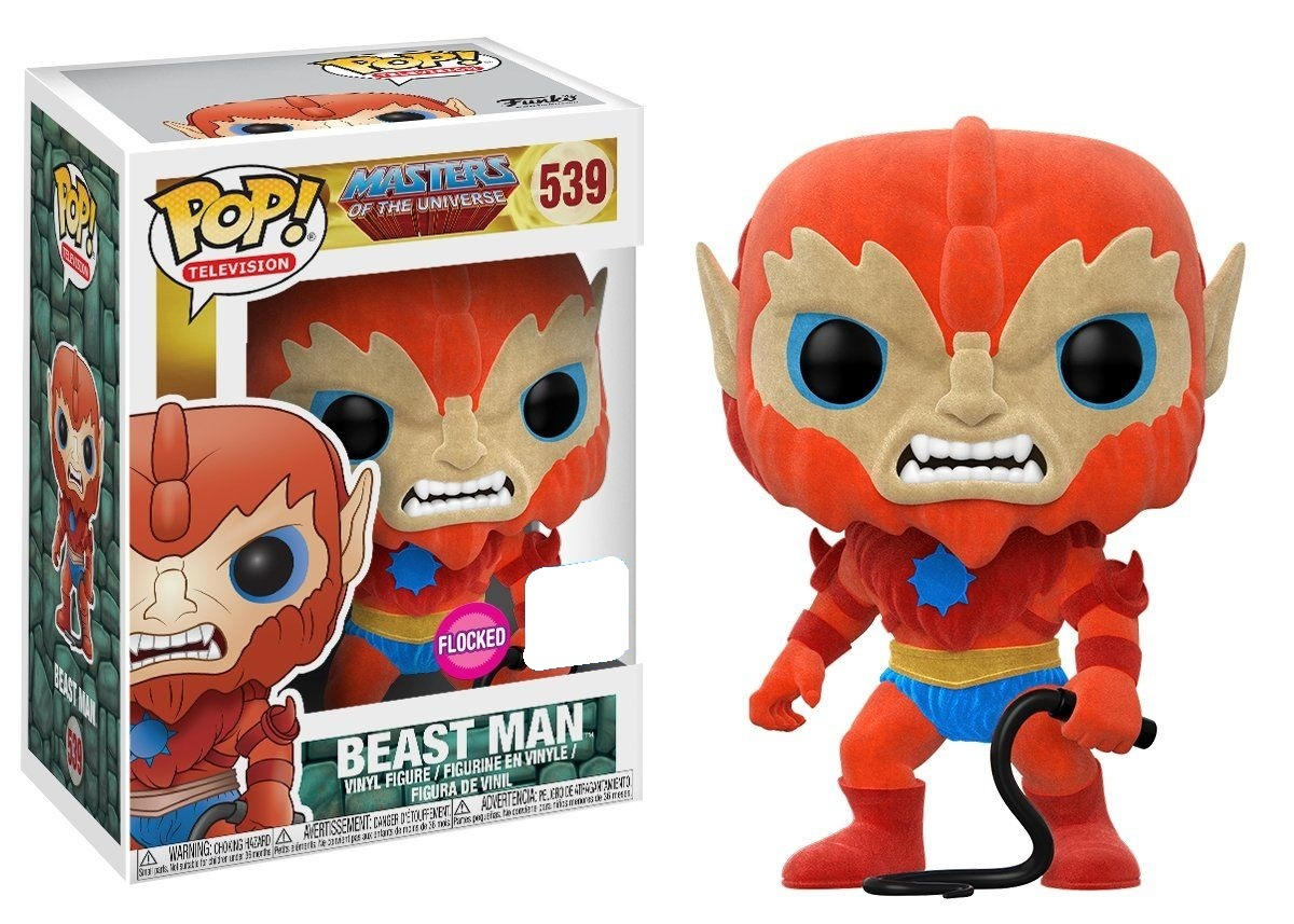 Masters of the Universe - Beast Man (Flocked) Pop! Vinyl Figure (LIMIT - ONE PER CUSTOMER) image