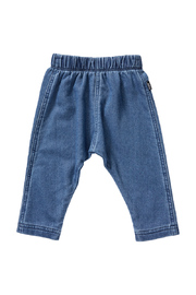 Bonds Terry Denim Pant - Mid Blue (12-18 Months)