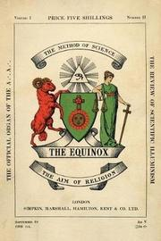 The Equinox by Aleister Crowley