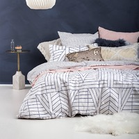 Bambury King Quilt Cover Set (Quartz)