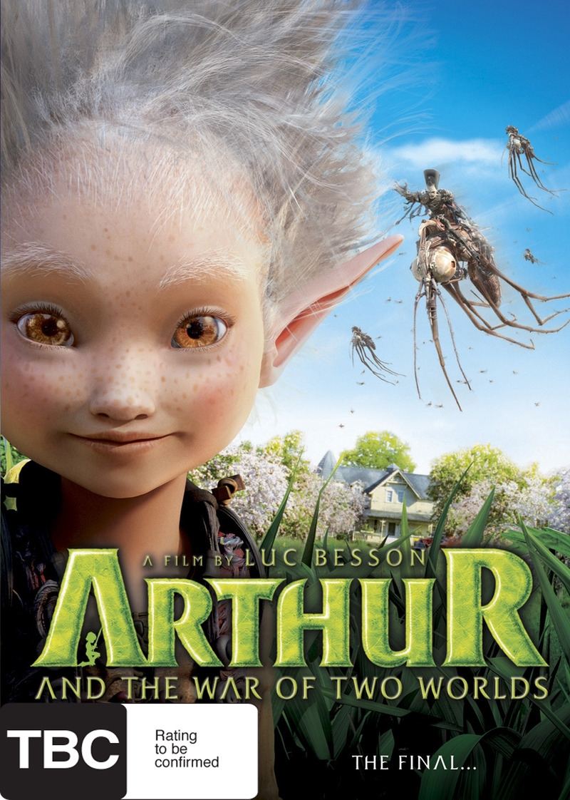 Arthur And The War Of Two Worlds on DVD image