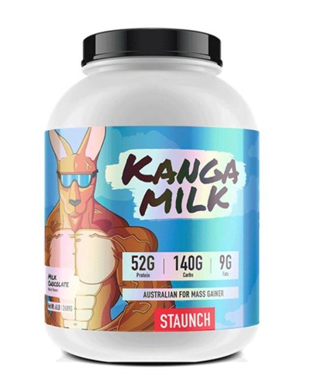 Staunch Nutrition: Kanga Milk Mass Gainer - Chocolate (2.72kg)