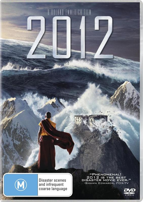 2012 on DVD
