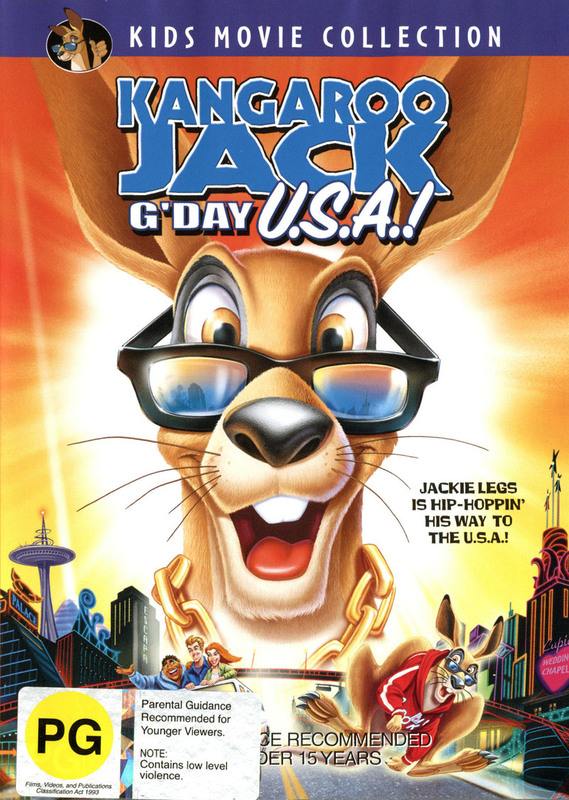 Kangaroo Jack 2 - G'day USA! on DVD