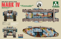 "Takom WWI Heavy Battle Tank Mark IV ""Female"""