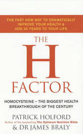 The H Factor Diet by Patrick Holford image