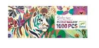Djeco: Rainbow Tigers Puzzle (1000pc)