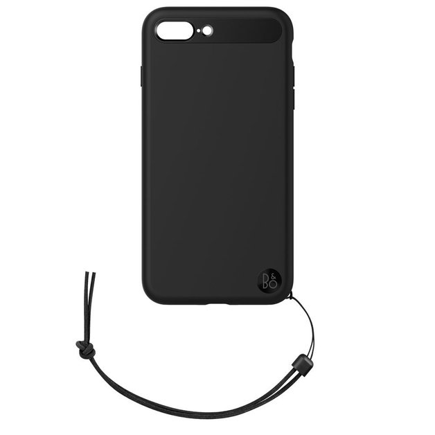 B&O Case with Lanyard for iPhone 8 Plus & iPhone 7 Plus - Black
