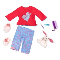 Our Generation: Read & Play Set - Willow's Pyjama Outfit image