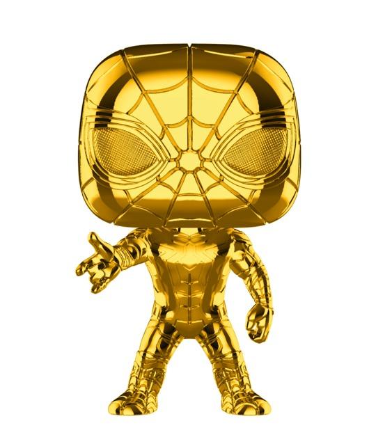 Marvel Studios - Iron Spider Gold Chrome Pop! Vinyl Figure