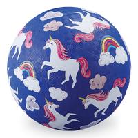 "Crocodile Creek: 7"" Playground Ball - Unicorns"