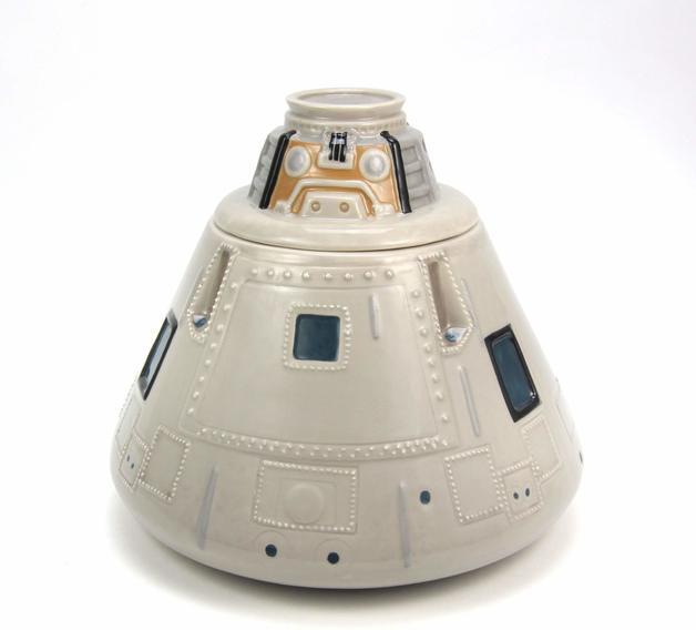 NASA: Apollo Capsule Cookie Jar