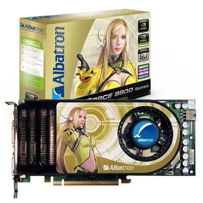 ALBATRON 8800GTX 768MB PCIE DUAL DVI