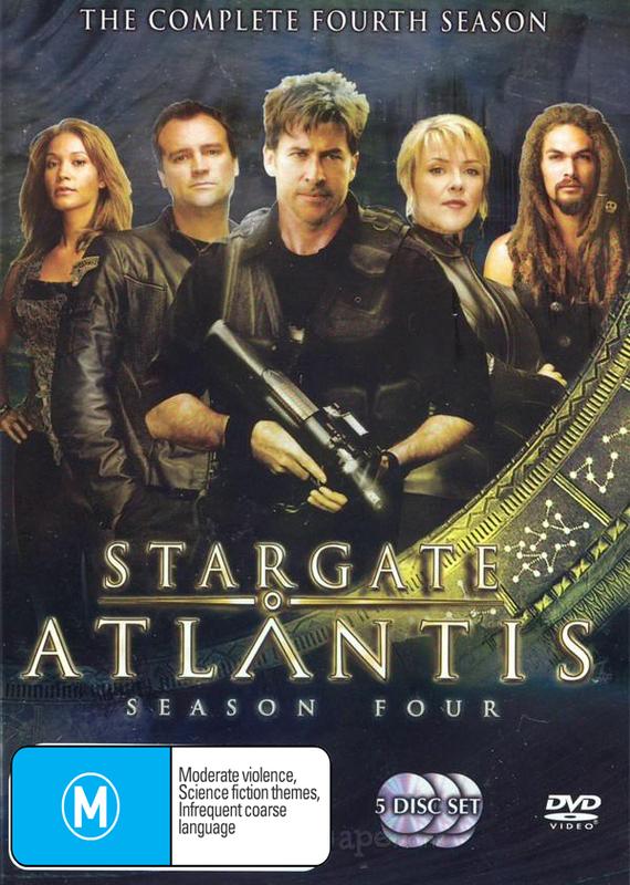 Stargate Atlantis - Complete Season 4 (5 Disc Set) on DVD