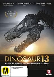 Dinosaur 13 on DVD