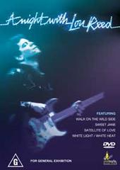 Lou Reed - A Night With Lou Reed on DVD