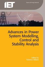 Advances in Power System Modelling, Control and Stability Analysis