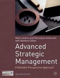 Advanced Strategic Management by Veronique Ambrosini image