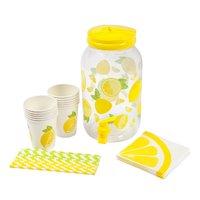 Sunnylife Drink Dispenser Kit - Lemonade