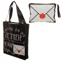 Harry Potter Letter to Hogwart Tote Bag