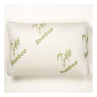Bamboo Pillow in Green Bag