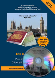 Life in the UK Test: Practice Questions for British Citizenship and Settlement Tests by Mary-Ann Coull image