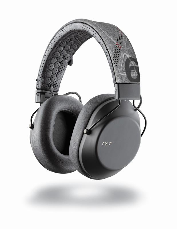 Plantronics: BackBeat Fit 6100 Headphones - Pepper Grey
