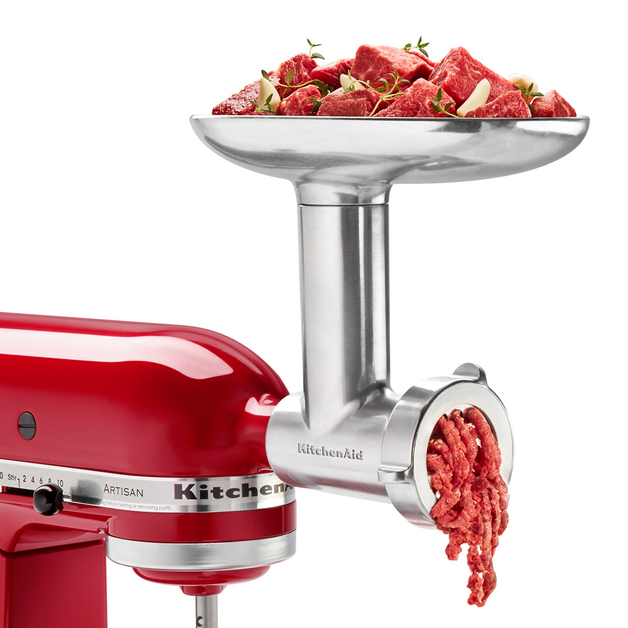KitchenAid: Metal Food Grinder Attachment