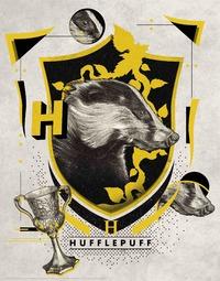 Harry Potter: Premium Art Print - Hufflepuff
