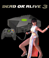 Xbox Console + Dead or Alive 3 for Xbox