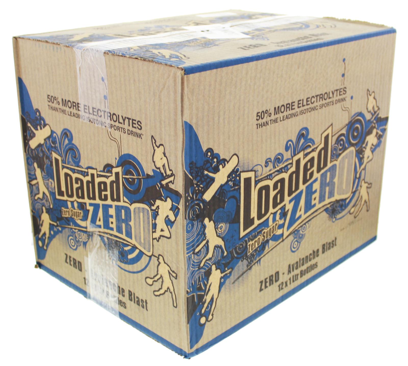 Loaded Sports Drink - Zero Avalanche Blast (1L) image