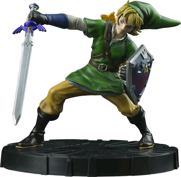 """Zelda Skyward Sword Link 10"""" Figure"""
