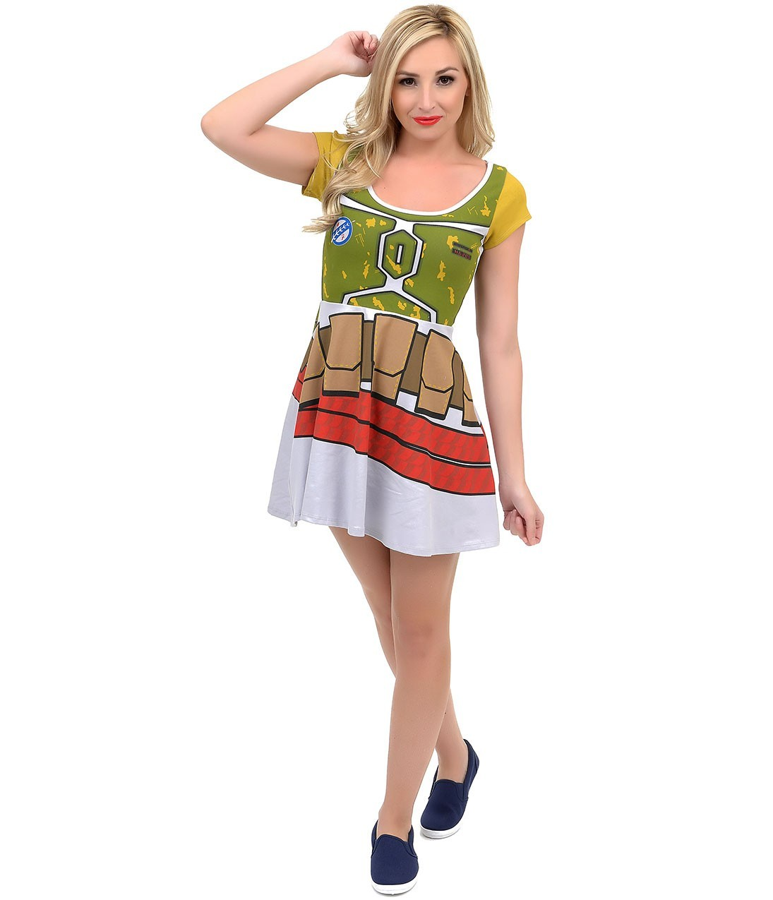 Star Wars Boba Fett Skater Dress (Large) image