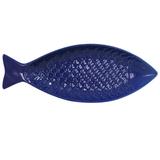 Atlantic Fishy Serving Dish - Dark Blue