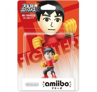 Nintendo Amiibo Mii Brawler - Super Smash Bros. Figure for Nintendo Wii U