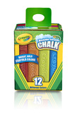 Crayola: 12 Thick Stick Chalk