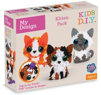 My Design: 3D Kitten Mini Club Plushcraft Kit