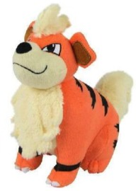 "Pokémon – 8"" Growlithe – Basic Plush"