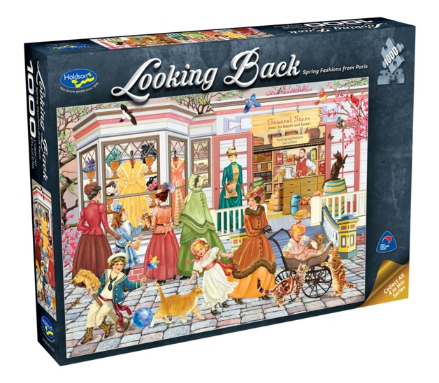 Holdson: 1000 Piece Puzzle - Looking Back (Spring Fashion Paris)