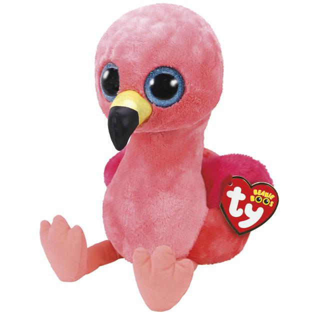 Ty Beanie Boo: Gilda Flamingo - Large Plush