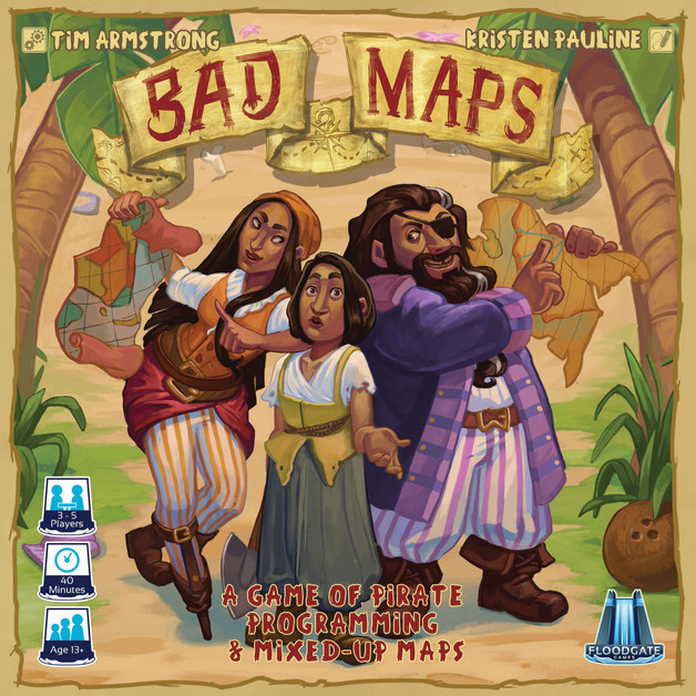 Bad Maps - Board Game