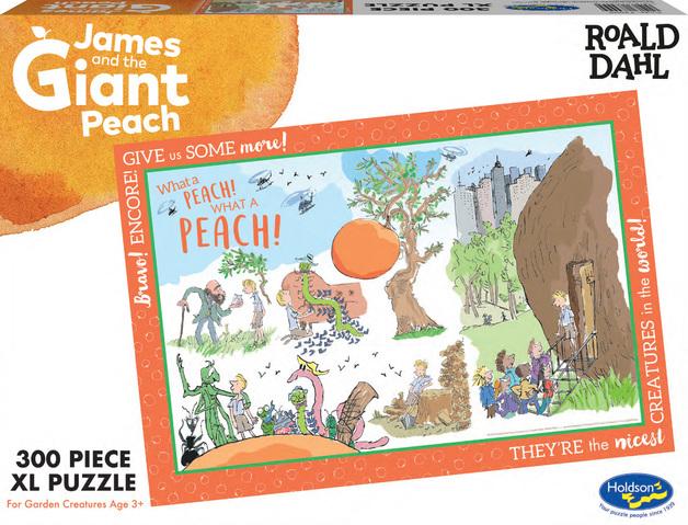 Roald Dahl: Themed Jigsaw Puzzle - James & The Giant Peach