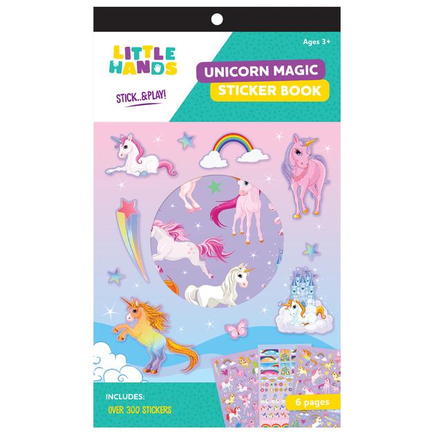 Little Hands: 6-Page Sticker Book - Unicorn Magic (Assorted Designs)