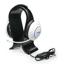 Playmax Wooden Headset Stand - Black for PC