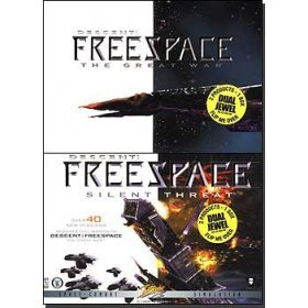 Descent Freespace + Silent Threat (Jewel Case) for PC