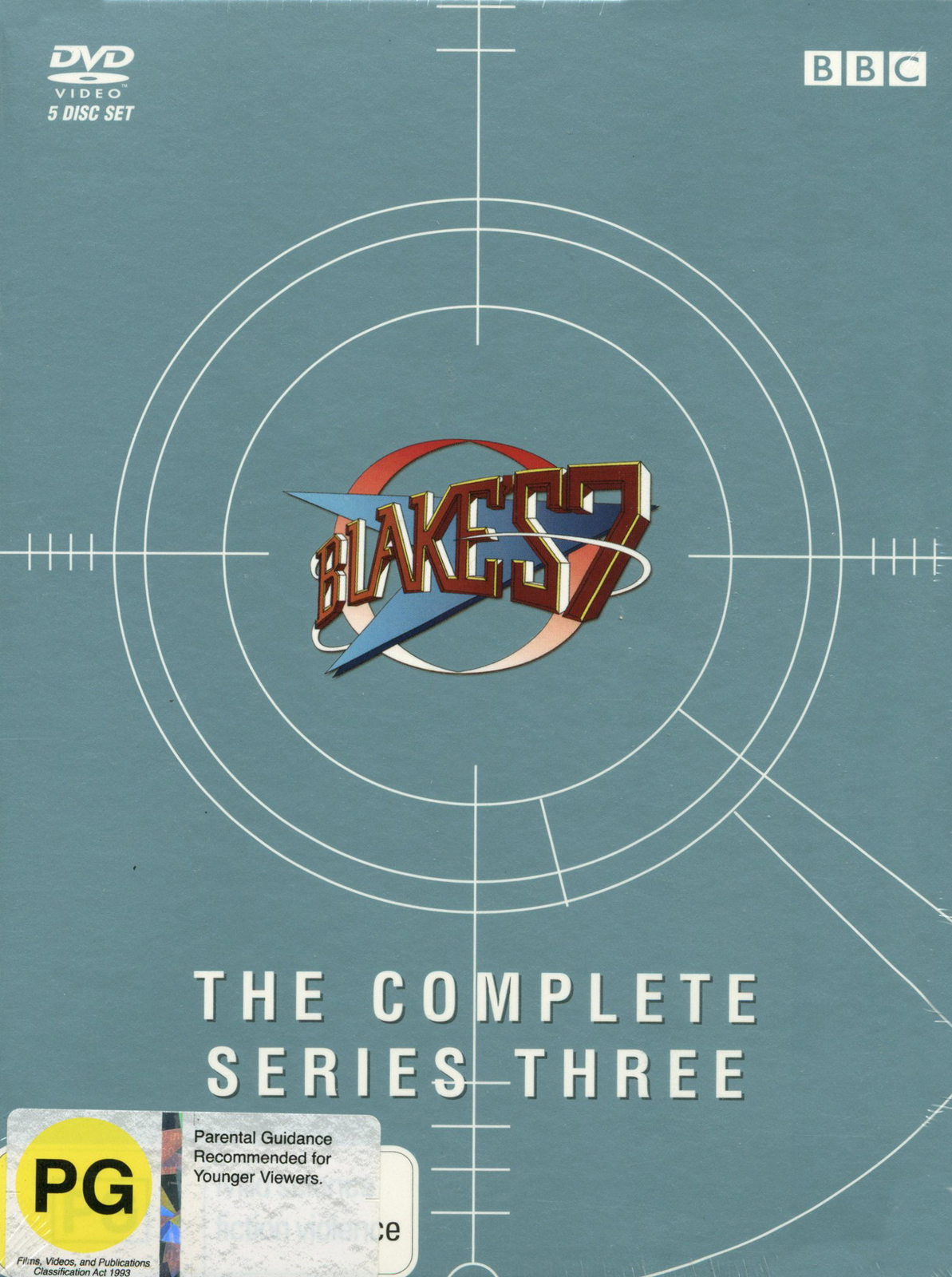 Blake's 7 - Complete Series 3 on DVD image