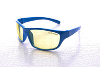 NoScope Minotaur Computer Gaming Glasses - Tsunami Blue for PC Games image