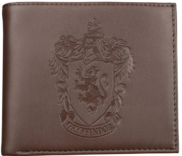 Harry Potter: Gryffindor Embossed - Brown Wallet