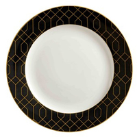 Maxwell & Williams Cashmere Nocturne Side Plate 20cm Black/Gold